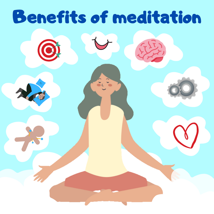 What are the 10 benefits of meditation on the brain