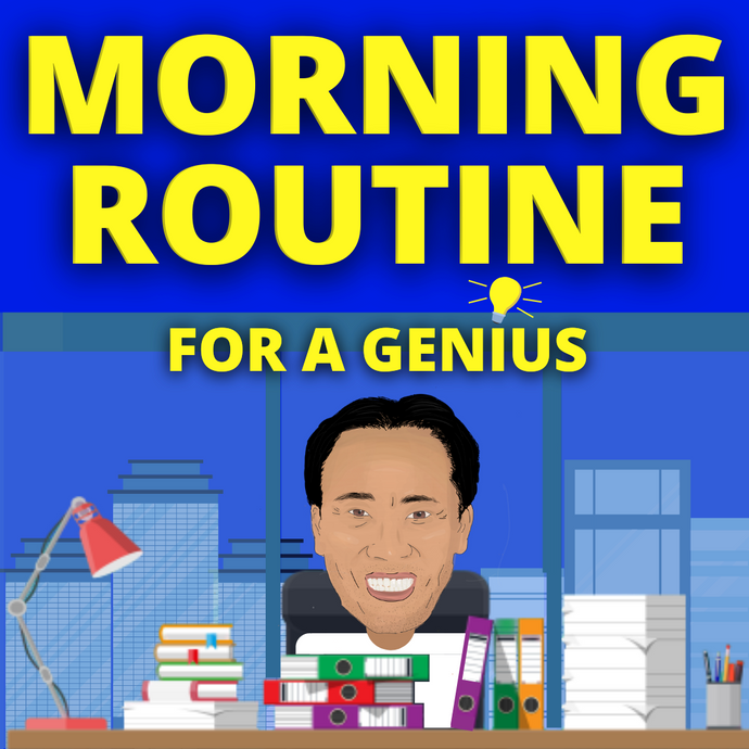 Jim Kwik's morning routine to become a genius