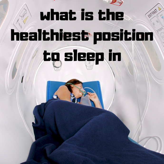 what is the healthiest position to sleep in