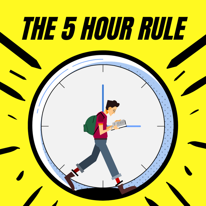 Why the 5 hour rule is the secret to success