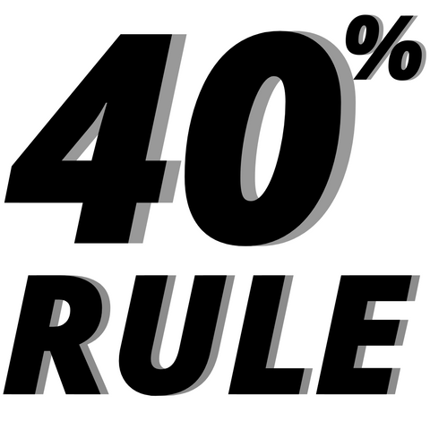 The 40% rule by David Goggins