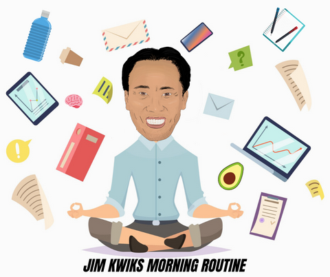 Jim kwik morning routine to become a genius