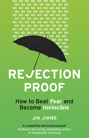 Rejection proof book by Jia Jiang