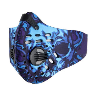 Activated Carbon Anti-Pollution Mask (Patterned)