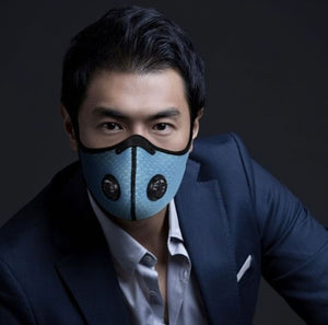 Activated Carbon Anti-Pollution Face Mask (Blue)