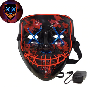 The Power Mask - Multicolored (Red and Blue)