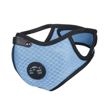 Load image into Gallery viewer, Activated Carbon Anti-Pollution Face Mask (Blue)