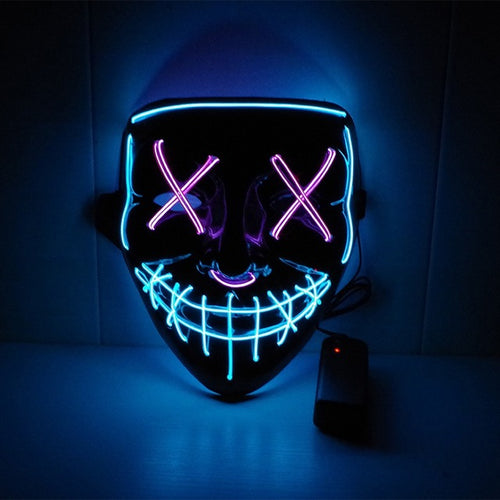 The Power Mask - Multicolored (Pink and Blue)