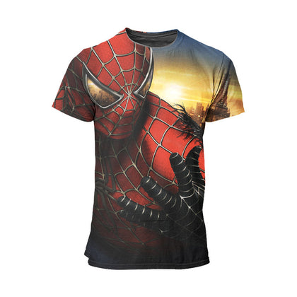 t shirt spiderman 3