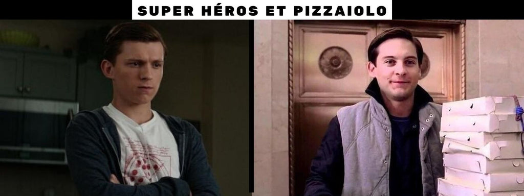 peter parker pizza time