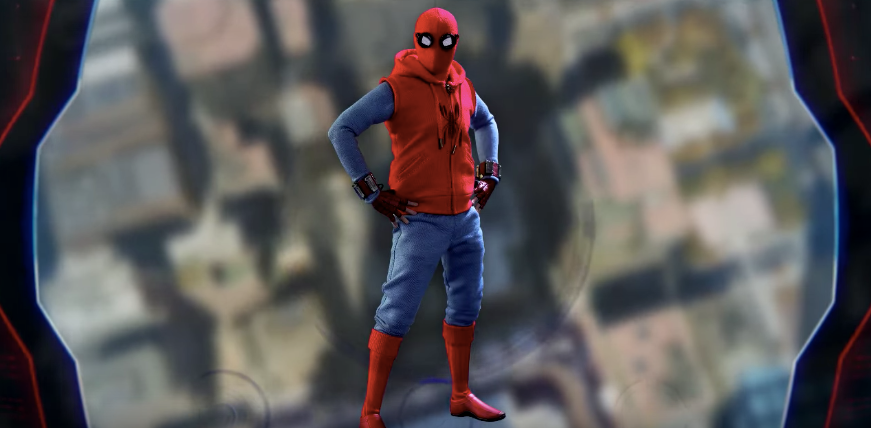 costume spider man far from home mcu