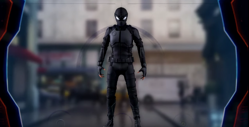 costume furtif spider man far from home