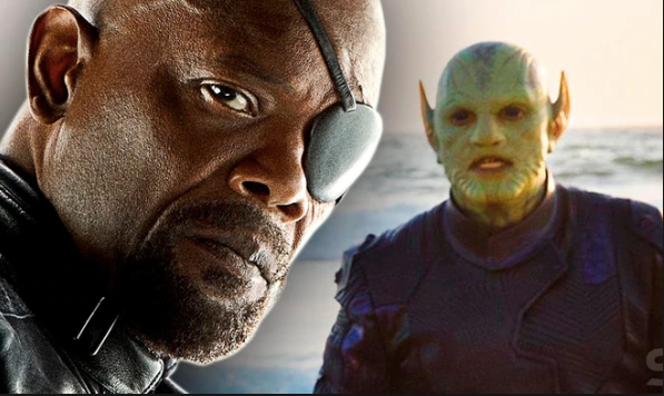 nick fury skrull spider man far from home