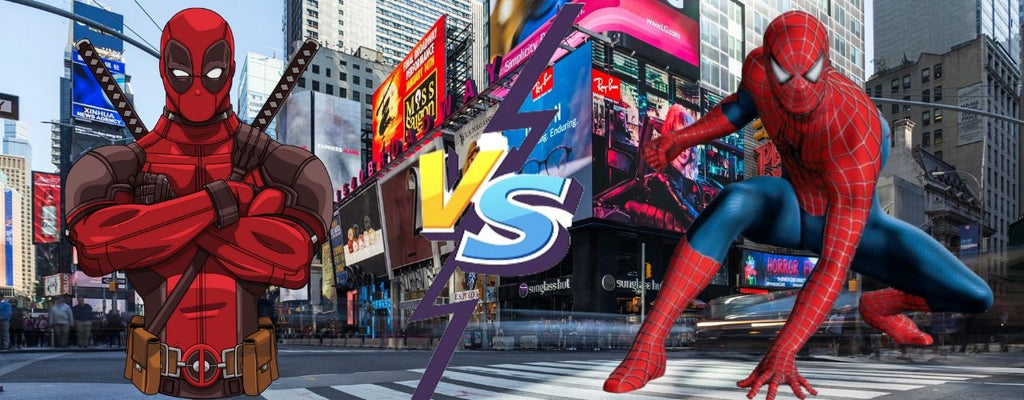 spiderman vs deadpool