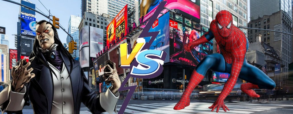 spiderman vs morlun