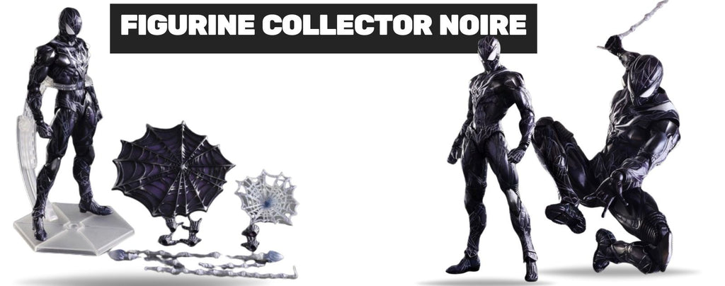 figurine spiderman collector noire