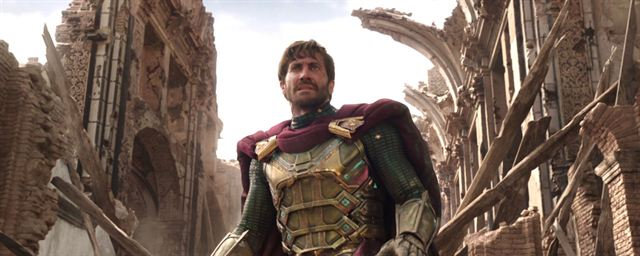 mysterio jake spiderman far from home.
