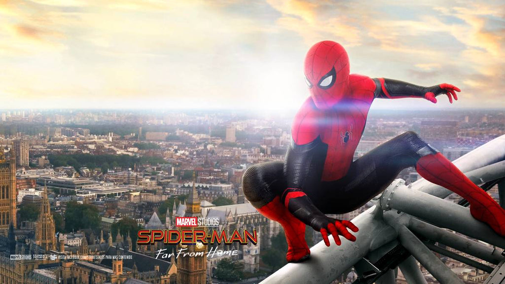 spider man sur les toits far from home
