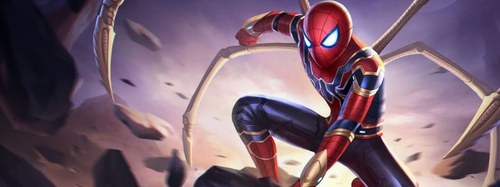costume iron spider man ps4