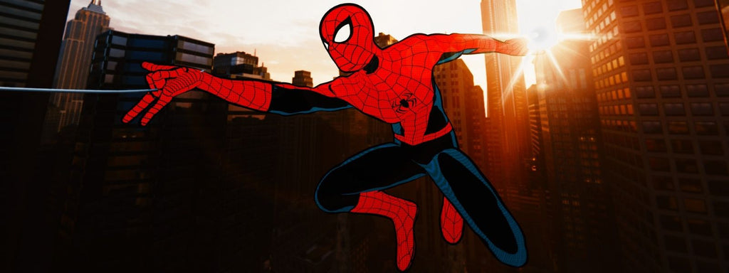costume vintage spiderman ps4