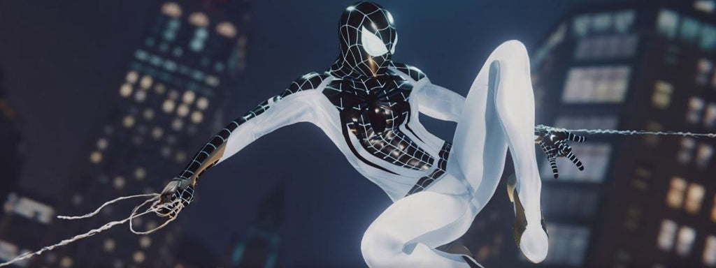 costume négatif spiderman ps4