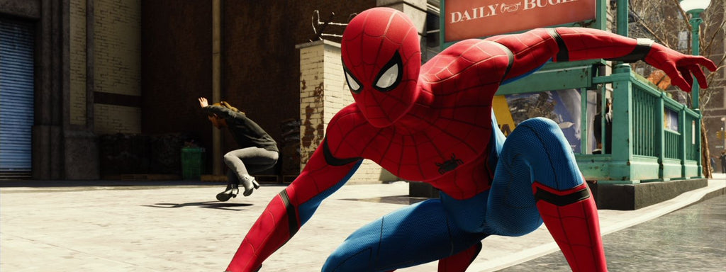 spiderman tony stark costume jeu ps4