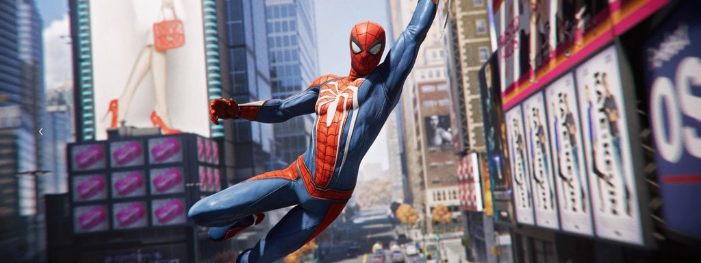 costume avancé spiderman ps4