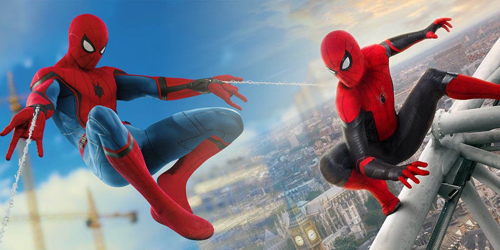 costume spider man ps4 et homecoming