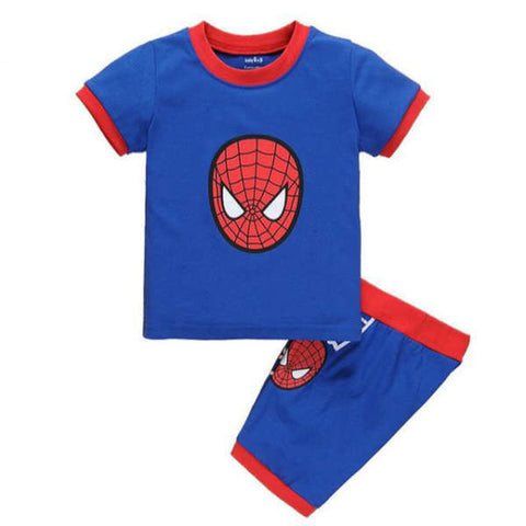 Pyjama Spiderman Bleu et Rouge