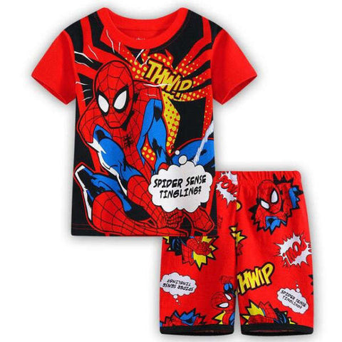 Pyjama Spiderman Cartoon