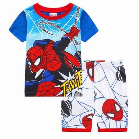 Pyjama Spiderman Combat