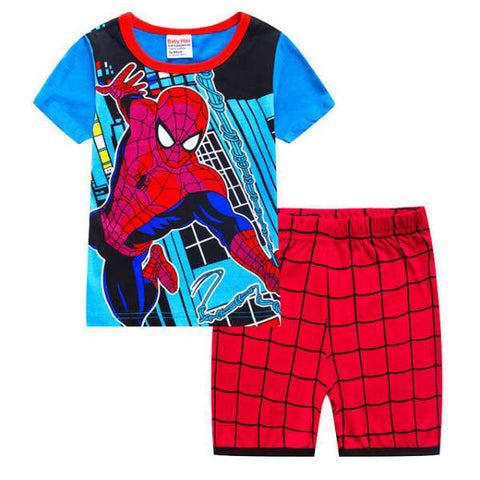Pyjama Spiderman Design