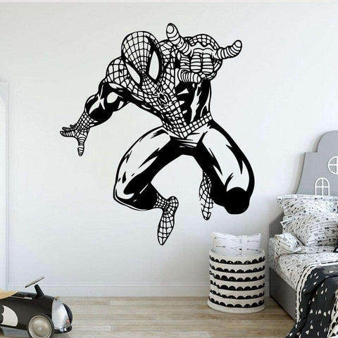 Sticker Spiderman Réaliste