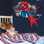 Sticker Spiderman Mural