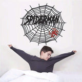 Sticker Spiderman Web