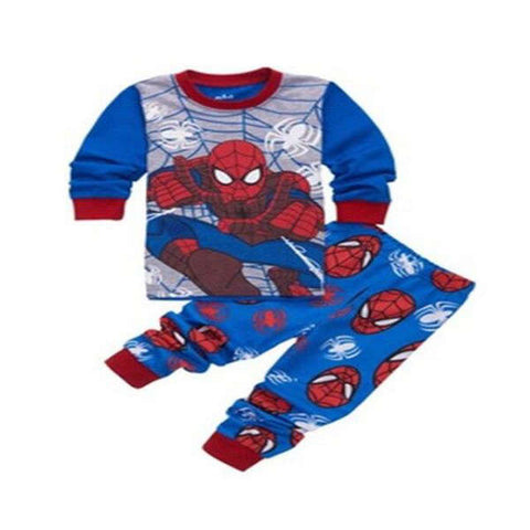 Pyjama Spiderman Bleu
