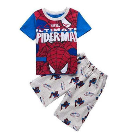 photo de face d'un Pyjama de Spiderman Ultimate