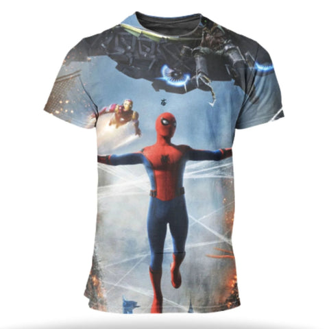 T Shirt SpiderMan <br> Homecoming