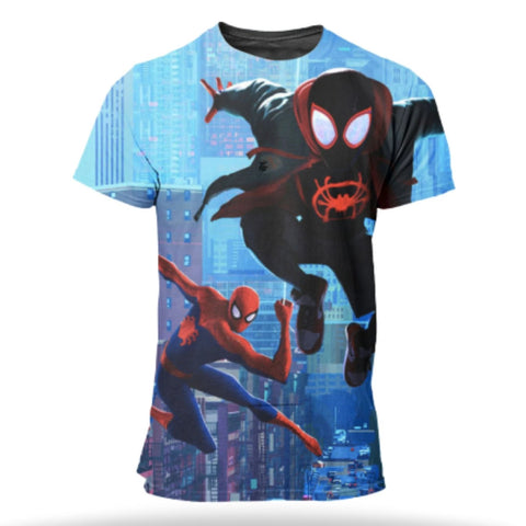 T Shirt SpiderMan <br> Into the Spider Verse