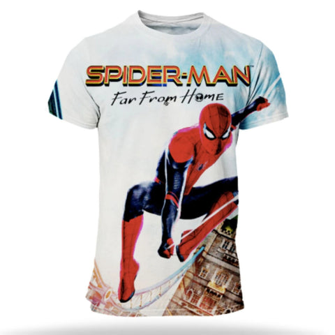 t shirt de spiderman far from home