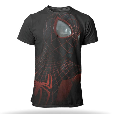 T Shirt Spider Man <br> Costume Into the Spider Verse