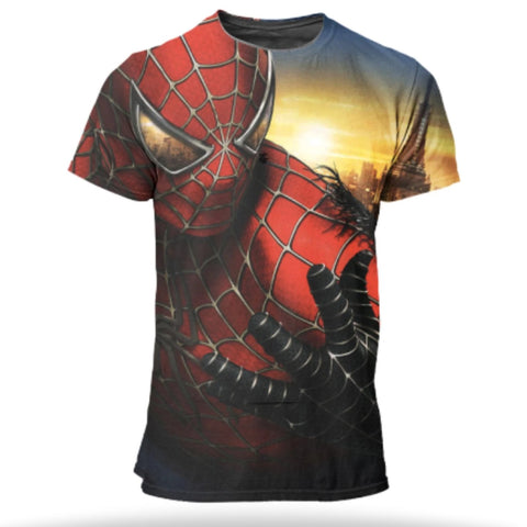 t shirt de spiderman 3