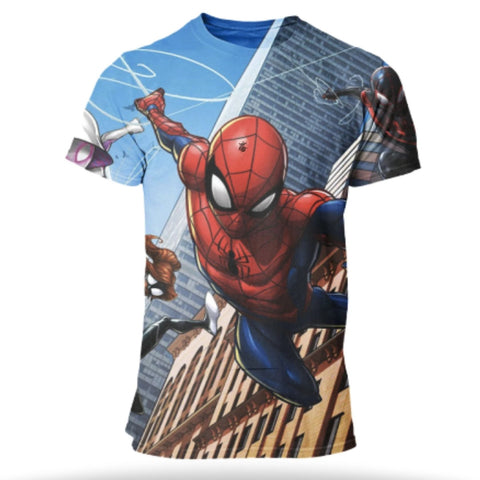 t shirt de spiderman comic