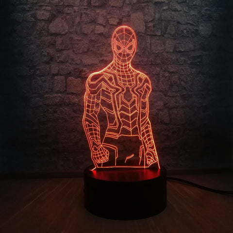 Lampe Spiderman New Generation