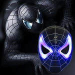Masque Spiderman Led Noir