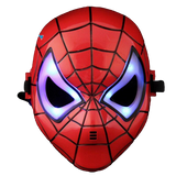 Masque Spiderman Led Rouge