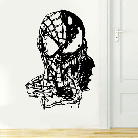 Sticker Spiderman vs Venom