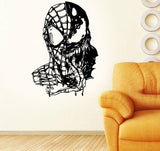 Spiderman contre Venom sticker
