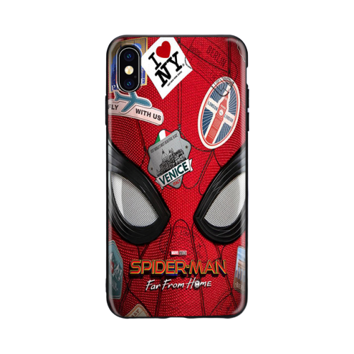 Marvel Superheroes SpiderMan Far From Home Logo TPU Soft Phone Case for iPhone 8 7 6 5 removebg preview 600x600