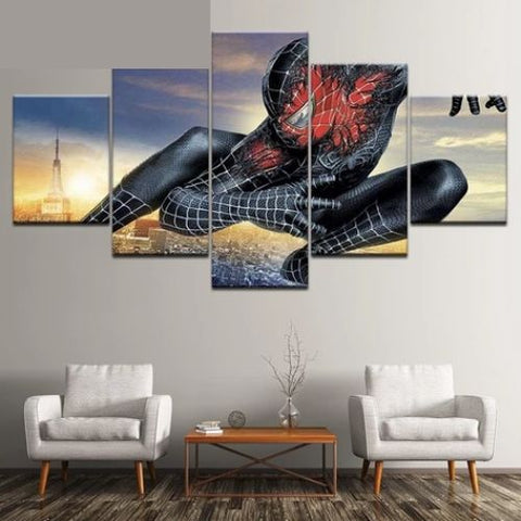 tableau spiderman symbiote
